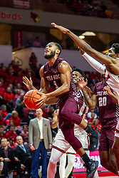 NORMAL, IL - November 10: Markquis Nowell during a college basketball game between the ISU Redbirds and the Little Rock Trojans on November 10 2019 at Redbird Arena in Normal, IL. (Photo by Alan Look)
