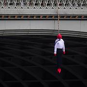Crazy Talk action - suicide on Westmister Bridge
