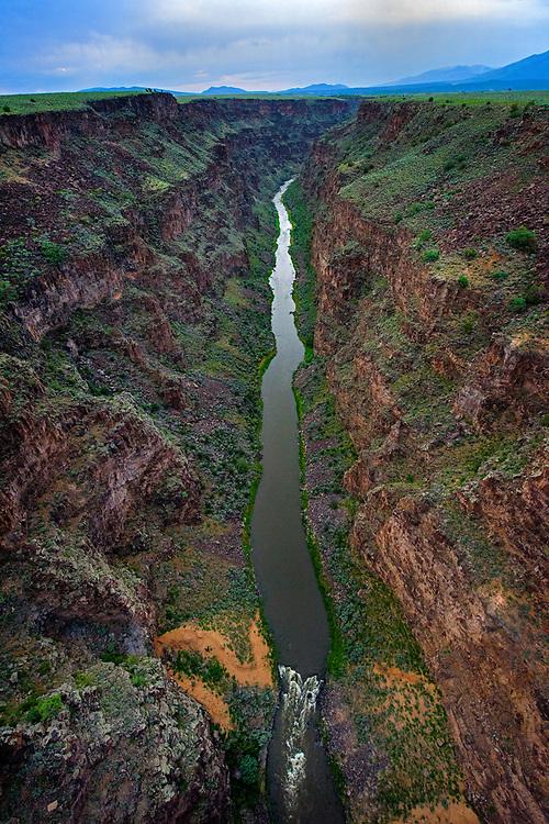 Rio Grande Del Norte Monument, Gorge bridge perspective, Taos County, New Mexico