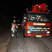 Woningbrand Frans Halslaan 19 Huizen, ladderwagen