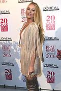 Het 20-jarig jubileum van de Beau Monde Awards werd groots gevierd in het Amstel Hotel, Amsterdam.<br /> <br /> Op de foto:  Inge de Bruijn