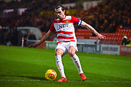 John Marquis of Doncaster Rovers (9) in action during the EFL Sky Bet League 1 match between Doncaster Rovers and Southend United at the Keepmoat Stadium, Doncaster, England on 12 February 2019.