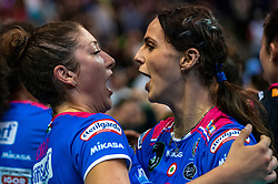 18-05-2019 GER: CEV CL Super Finals Igor Gorgonzola Novara - Imoco Volley Conegliano, Berlin<br /> Igor Gorgonzola Novara take women's title! Novara win 3-1 / Lauren Carlini #1 of Igor Gorgonzola Novara,