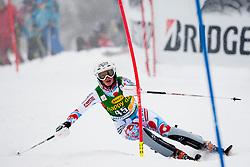 BAUDAdeline of France during 1st Run of 50th Golden Fox Audi Alpine FIS Ski World Cup Ladies Slalom, on February 2, 2014 in Podkoren, Kranjska Gora, Slovenia. (Photo By Urban Urbanc / Sportida.com)