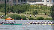 Poznan. POLAND.<br /> <br /> Men's eights final. FISA World Cup III, Malta Lake.<br /> <br /> Sunday  19/06/2016<br /> <br /> [Mandatory Credit; Peter SPURRIER/Intersport-images]