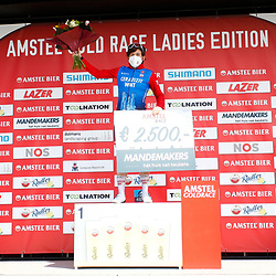 18-04-2021: Wielrennen: Amstel Gold Race women: Berg en Terblijt: Kathrin Hammes: Bergklassement