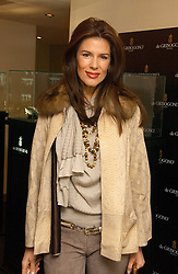 CHRISTINA ESTRADA JUFFALI at a lunch hosted by Fawaz Gruosi to celebrate the launch of De Grisogono's latest watch 'Be Eight' held at Nobu, 19 Old Park Lane, London W1 on 30th November 2006.<br />