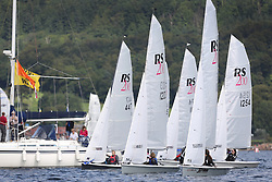 Peelport Clydeport Largs Regatta Week 2013 <br /> <br /> RS 200 startline <br /> <br /> Largs Sailing Club, Largs Yacht Haven, Scottish Sailing Institute