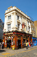 The Crown Pub - Seven Dials - Covent Garden London .<br /> <br /> Visit our ENGLAND PHOTO COLLECTIONS for more photos to download or buy as wall art prints https://funkystock.photoshelter.com/gallery-collection/Pictures-Images-of-England-Photos-of-English-Historic-Landmark-Sites/C0000SnAAiGINuEQ