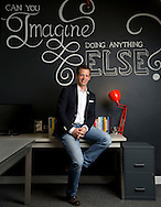 John Lowe, CEO at Jeni's Splendid Ice Creams for the the 2014 Tastemakers. (Will Shilling/Crave)