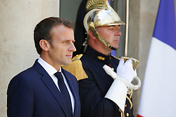 July 6, 2018 - Paris - Le President Macron (Credit Image: © Panoramic via ZUMA Press)