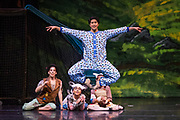 Bay Pointe Ballet performs Bruce Steivel's Peter Pan at the San Mateo Performing Arts Center in San Mateo, California, on September 25, 2016. (Stan Olszewski/SOSKIphoto)