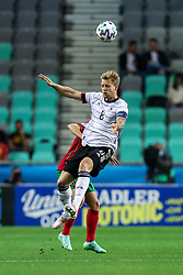 LJUBLJANA, SLOVENIA - JUNE 06: Arne Maier of Germany during the 2021 UEFA European Under-21 Championship Final match between Germany and Portugal at Stadion Stozice on June 06, 2021 in Ljubljana, Slovenia. Photo by Grega Valancic / Sportida