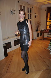 The Ruinart Champagne Christmas drinks party held at Berluti, Conduit Street, London on 9th December 2009.<br /> Picture shows:- DARCEY BUSSELL  *** Local Caption *** Image free to use for private use.  If in doubt contact us - info@donfeatures.com