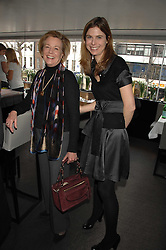 Left to right, POLLY WOOD Kate Reardon's mother and TOR GOODER at a lunch to celebrate the launch of the Top Tips for Girls website (toptips.com) founded by Kate Reardon held at Armani, Brompton Road, London on 5th March 2007.<br /><br />NON EXCLUSIVE - WORLD RIGHTS