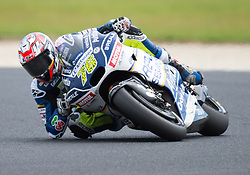 October 20, 2017 - Melbourne, Victoria, Australia - French rider Loris Baz (#76) of Reale Avintia Racing in action during the second free practice session at the 2017 Australian MotoGP at Phillip Island, Australia. (Credit Image: © Theo Karanikos via ZUMA Wire)