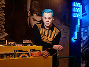 Jack White Thirdman Records in London on September 23. 2021. Photographed by Ki Price for The Times