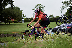 Lisa Klein (GER) at Stage 4 of 2019 OVO Women's Tour, a 158.9 km road race from Warwick to Burton Dassett, United Kingdom on June 13, 2019. Photo by Sean Robinson/velofocus.com