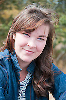 Portrait of Katie Harris, taken at Uplands Park, Oak Bay, near Victoria, BC