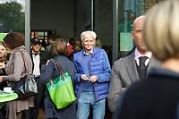 DEU, Deutschland, Germany, Berlin, 28.09.2013:<br />Hans-Christian Ströbele (BÜNDNIS 90/DIE GRÜNEN) beim Länderrat (Kleiner Parteitag) von BÜNDNIS 90/DIE GRÜNEN in den Uferstudios.