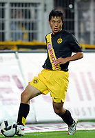 Fotball<br /> Tyskland<br /> Foto: Witters/Digitalsport<br /> NORWAY ONLY<br /> <br /> 24.09.2008<br /> <br /> Young-Pyo Lee<br /> Fussball Borussia Dortmund <br /> <br /> DFB-Pokal 2.Runde Borussia Dortmund - Hertha BSC Berlin 2:1
