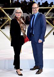 Elizabeth Cantillon and Doug Belgrad attending the Charlie's Angels UK Premiere at the Curzon Mayfair, London.