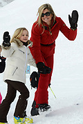 Fotosessie met de koninklijke familie in Lech /// Photoshoot with the Dutch royal family in Lech .<br /> <br /> Op de foto / On the photo: Prinses Maxima and Princess Ariane