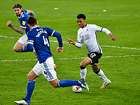 Football - 2020 / 2021 Sky Bet Championship - Swansea City vs Cardiff City - Liberty Stadium<br /> <br /> Morgan Whittaker Swansea City on the attackin the South Wales local derby match<br /> <br /> COLORSPORT/WINSTON BYNORTH