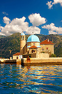 St George Island Kotor Bay, Perast Montenegro .<br /> <br /> Visit our MONTENEGRO HISTORIC PLAXES PHOTO COLLECTIONS for more   photos  to download or buy as prints https://funkystock.photoshelter.com/gallery-collection/Pictures-Images-of-Montenegro-Photos-of-Montenegros-Historic-Landmark-Sites/C0000AG8SdQ.sYLU