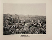"""FORT KENESAW, GA Kenesaw Mountains in the Distance,from The American Civil War book and Grant album : """"art immortelles"""" : a portfolio of half-tone reproductions from rare and costly photographs designed to perpetuate the memory of General Ulysses S. Grant, depicting scenes and incidents in connection with the Civil War Published  in Boston and New York by W. H. Allen in 1894"""