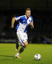 Chris Lines of Bristol Rovers - Mandatory byline: Neil Brookman/JMP - 07966 386802 - 06/10/2015 - FOOTBALL - Memorial Stadium - Bristol, England - Bristol Rovers v Wycombe Wanderers - JPT Trophy