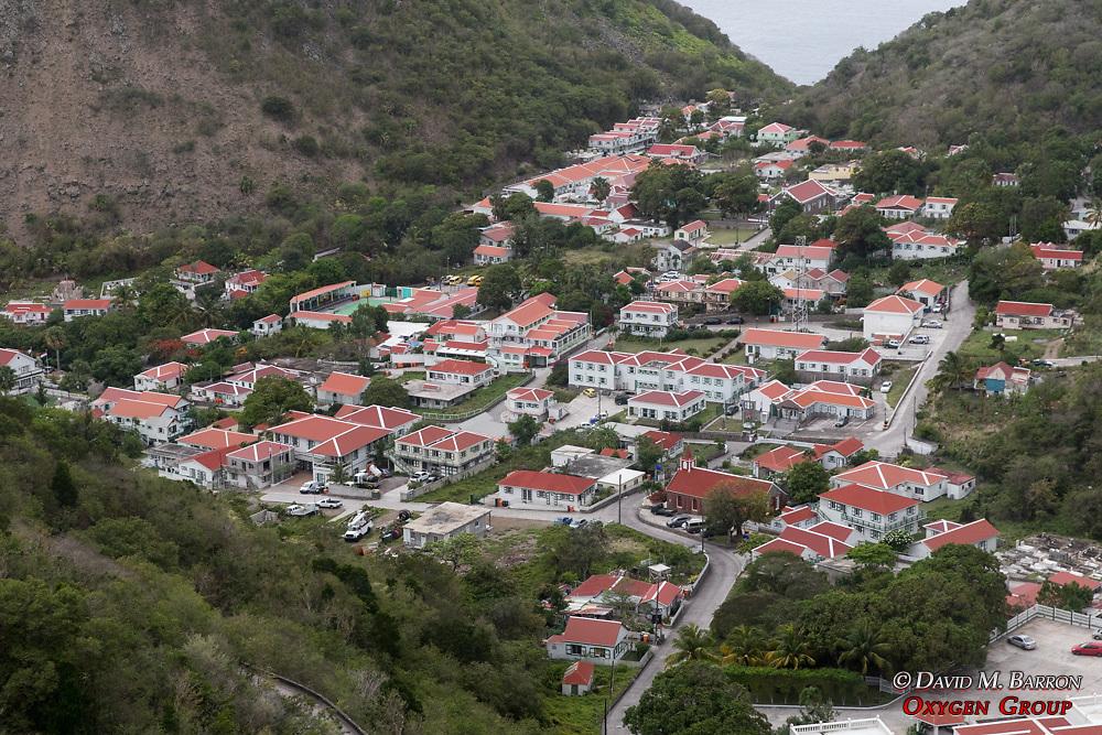 View of The Bottom, Saba