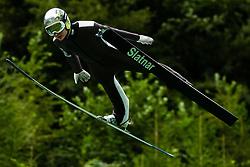 Anze Lanisek during practice session of Slovenian national Ski Jumping team on 18 August, 2020, in Kranj, Slovenia.  Photo by Grega Valancic / Sportida