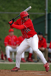 15 February 2007: Ryan Anetsberger.  Indiana State Sycamores gave up the first game of the double-header by a score of 16-6 to the Illinois State Redbirds at Redbird Field on the campus of Illinois State University in Normal Illinois.