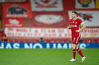 Football - 2020 / 2021 Champions League - Group D - Liverpool vs FC Midtjylland - Anfield<br /> <br /> Liverpool's James Milner <br /> <br /> COLORSPORT/TERRY DONNELLY