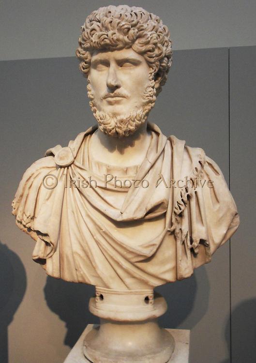 Marble statue of the Emperor Septimius Severus