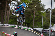 #73 (LUKIE Simon) FRA during round 3 of the 2017 UCI BMX  Supercross World Cup in Zolder, Belgium,