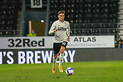 Tom Lawrence of Derby County (10)  during the EFL Sky Bet Championship match between Derby County and Cardiff City at the Pride Park, Derby, England on 28 October 2020.