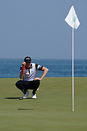 Steven Brown (ENG) on the 9th during Round 3 of the Oman Open 2020 at the Al Mouj Golf Club, Muscat, Oman . 29/02/2020<br /> Picture: Golffile   Thos Caffrey<br /> <br /> <br /> All photo usage must carry mandatory copyright credit (© Golffile   Thos Caffrey)