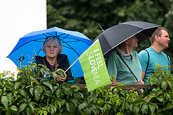 The fans during 1st Stage of 25th Tour de Slovenie 2018 cycling race between Lendava and Murska Sobota (159 km), on June 13, 2018 in  Slovenia. Photo by Matic Klansek Velej / Sportida