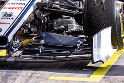 February 18, 2019 - Montmelo, BARCELONA, Spain - Alfa Romeo aerodinamic front wing detail during the Formula 1 2019 Pre-Season Tests at Circuit de Barcelona - Catalunya in Montmelo, Spain on February 18. (Credit Image: © AFP7 via ZUMA Wire)