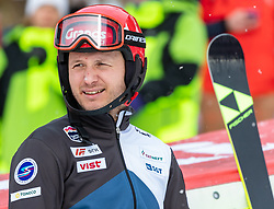 19.01.2020, Lauberhorn, Wengen, SUI, FIS Weltcup Ski Alpin, Slamon, Herren, 2. Lauf, im Bild Alexander Khoroshilov (RUS, 3. Platz) // third placed Alexander Khoroshilov of Russian Federation reacts after his 2nd run of men's Slalom of FIS ski alpine world cup at the Lauberhorn in Wengen, Switzerland on 2020/01/19. EXPA Pictures © 2020, PhotoCredit: EXPA/ Johann Groder