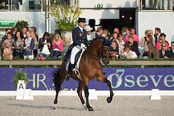 Hologne Joux Francoise (BEL) - Wodan <br /> CDIO5 Grand Prix Freestyle <br /> CHIO Rotterdam 2014<br /> © Dirk Caremans