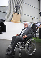 Football - 2016 /2017 Championship - Fulham vs Queens Park Rangers<br /> <br /> George Cohen at the unfailing of his Statue at Craven Cottage<br /> It replaces the statue of Pop Singer Michael Jackson<br /> <br /> Credit : Colorsport / Andrew Cowie