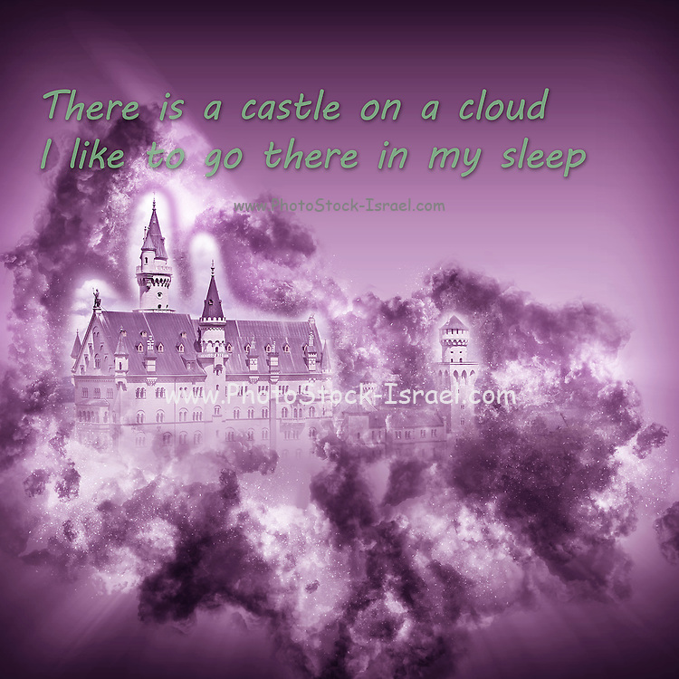 Famous humourous quotes series: There is a castle on a cloud I like to go there in my sleep (Les Miserables)