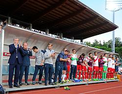 England bench  - Mandatory byline: Joe Meredith/JMP - 07966386802 - 05/09/2015 - FOOTBALL- INTERNATIONAL - San Marino Stadium - Serravalle - San Marino v England - UEFA EURO Qualifers Group Stage