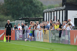 Fans  - Photo mandatory by-line: Dougie Allward/JMP - Mobile: 07966 386802 - 28/09/2014 - SPORT - Women's Football - Bristol - SGS Wise Campus - Bristol Academy Women's v Manchester City Women's - Women's Super League