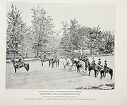 """Major-General Jos. W. Plume and Staff from The American Civil War book and Grant album : """"art immortelles"""" : a portfolio of half-tone reproductions from rare and costly photographs designed to perpetuate the memory of General Ulysses S. Grant, depicting scenes and incidents in connection with the Civil War Published  in Boston and New York by W. H. Allen in 1894"""