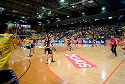Final match of Slovenian Men Handball Cup between RK Cimos Koper and RK Celje Pivovarna Lasko, on April 19, 2009, in Arena Bonifika, Koper, Slovenia. Cimos Koper won 24:19 and became Slovenian Cup Champion. (Photo by Vid Ponikvar / Sportida)