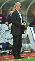 Fotball: Tyskland-England 1-5. München 01.09.01.<br /><br />Teamchef Rudi VÖLLER<br />           WM-Quali   Deutschland - England  1:5